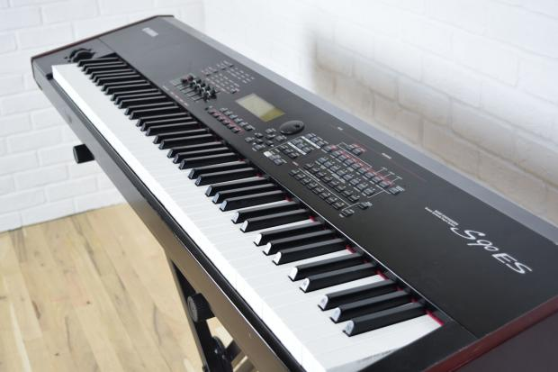 Yamaha s90 es 88 key weighted keyboard synth excellent reverb for Yamaha fully weighted keyboard