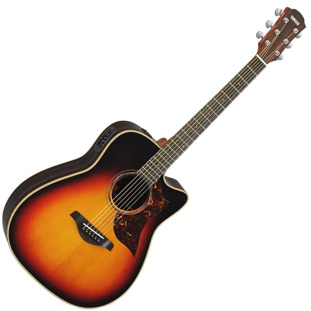 yamaha a3r acoustic electric guitar vintage sunburst b stock reverb. Black Bedroom Furniture Sets. Home Design Ideas