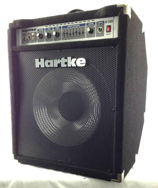 hartke a100 100 watt combo bass amplifier reverb. Black Bedroom Furniture Sets. Home Design Ideas