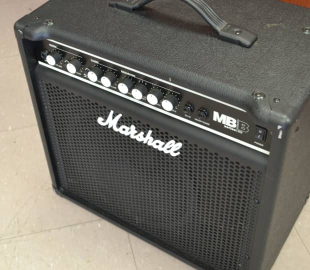 marshall mb30 bass combo amplifier amp 30w 1x10 reverb. Black Bedroom Furniture Sets. Home Design Ideas
