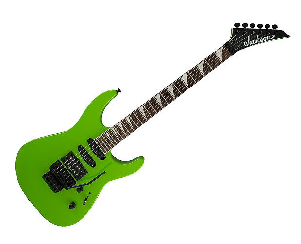 jackson x series soloist sl3x electric guitar slime green reverb. Black Bedroom Furniture Sets. Home Design Ideas