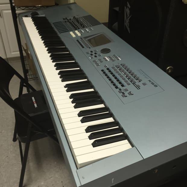 Yamaha motif xs8 reverb for Yamaha motif xs8 specs