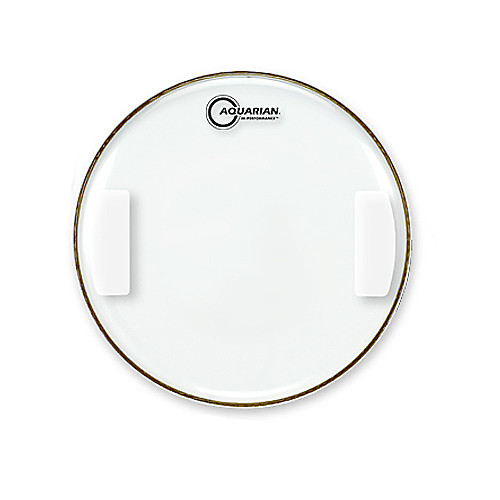 Aquarian 14 Inch Classic Clear Hi Performance Snare Side