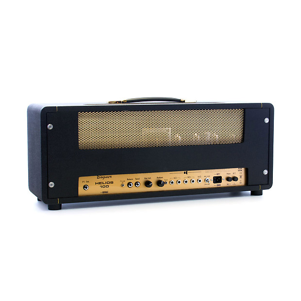 bogner amps helios 100 watt head modified marshall style reverb. Black Bedroom Furniture Sets. Home Design Ideas
