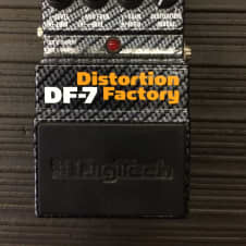 DigiTech X-series DF-7 Distortion Factory Modeling Guitar Effects Pedal image