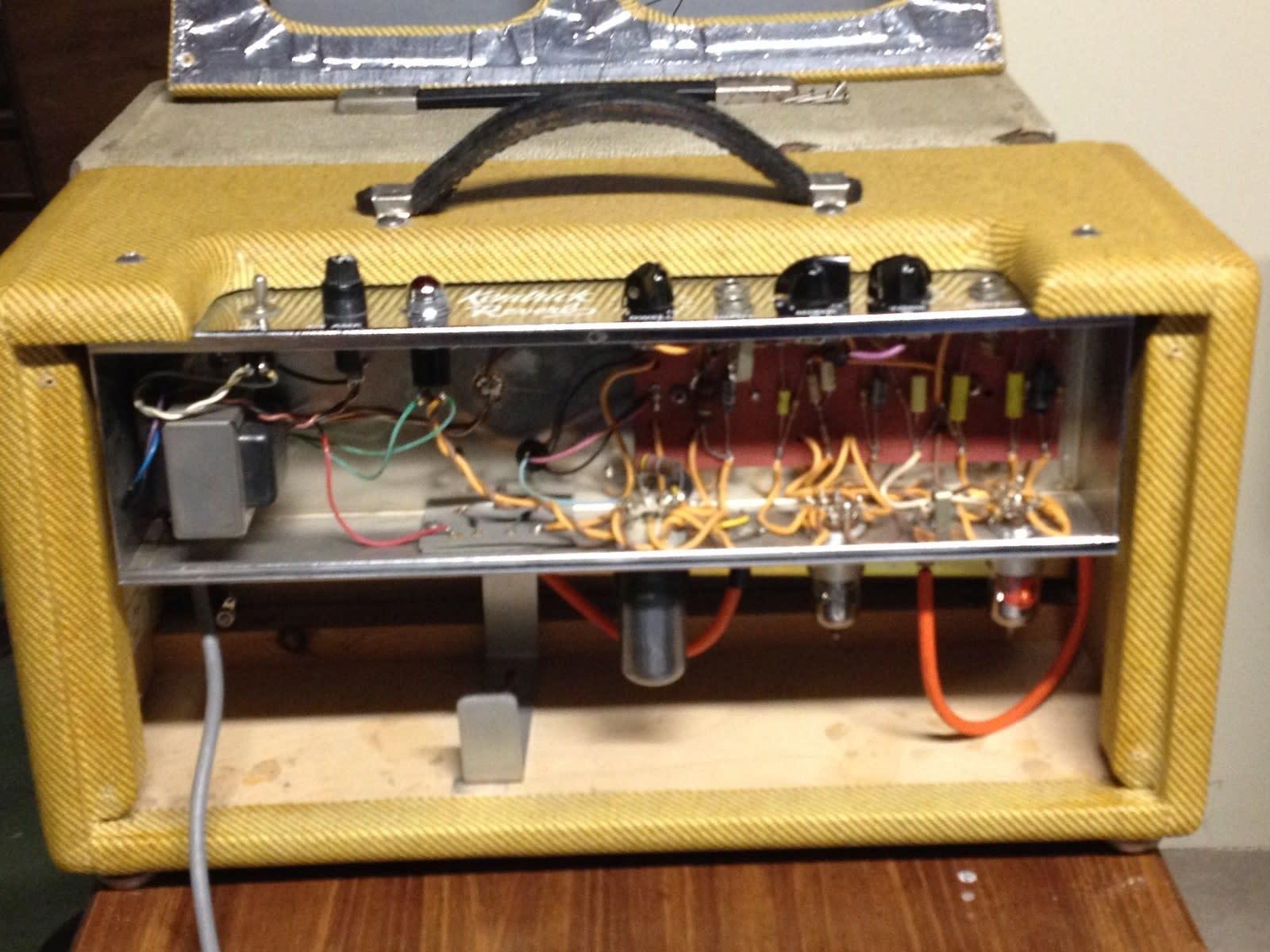 kendrick amp schematics sold - kendrick model 1000 tweed reverb unit, fender style ... briggs amp stratton engine schematics