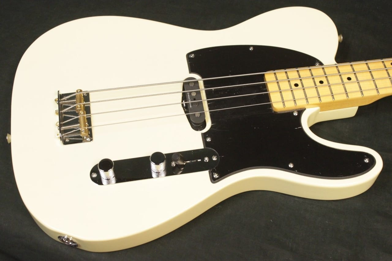 squier vintage modified telecaster bass guitar black on reverb. Black Bedroom Furniture Sets. Home Design Ideas