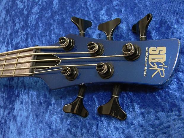 ibanez japan sdgr soundgear circa 1999 blue 5 string bass reverb. Black Bedroom Furniture Sets. Home Design Ideas