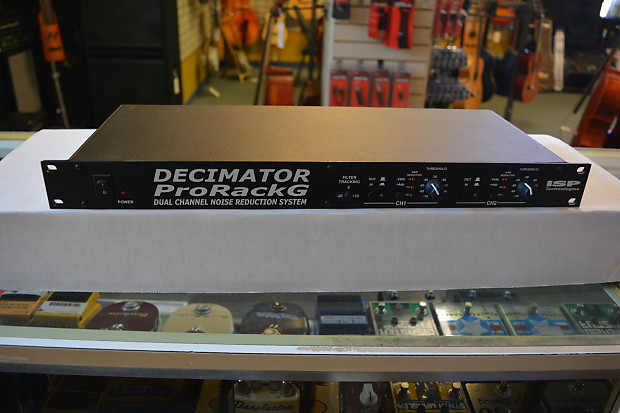 Isp Technologies Decimator Pro Rack G Black Reverb