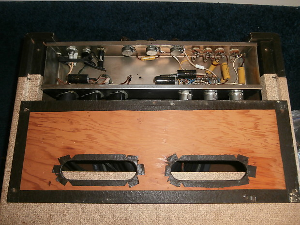 vintage 1957 gibson ga 20 two tone guitar amplifier w cover reverb. Black Bedroom Furniture Sets. Home Design Ideas