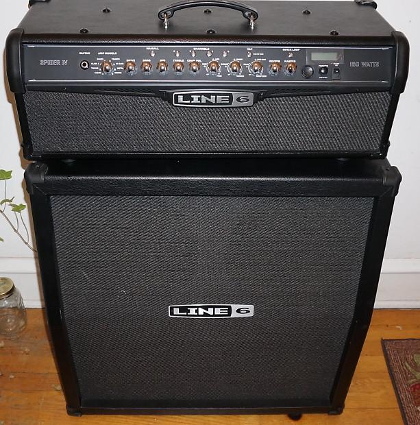 Line 6 Half Stack : line 6 spider iv hd150 head half stack 2013 black reverb ~ Hamham.info Haus und Dekorationen