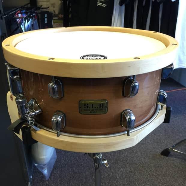 tama slp studio maple 14 x6 5 with wood hoops snare drum reverb. Black Bedroom Furniture Sets. Home Design Ideas