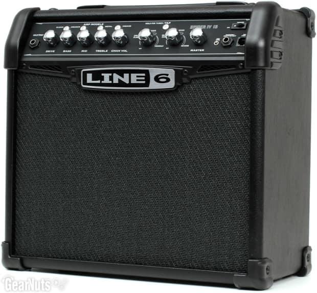 line 6 spider iv 15 modeling 15w 1x8 guitar combo amp reverb. Black Bedroom Furniture Sets. Home Design Ideas