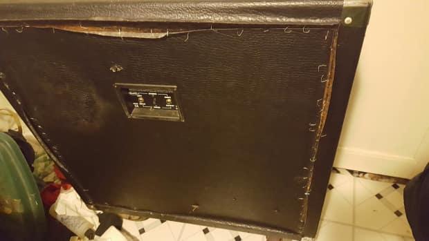 behringer empty 4x12 guitar speaker cabinet with eminence reverb. Black Bedroom Furniture Sets. Home Design Ideas