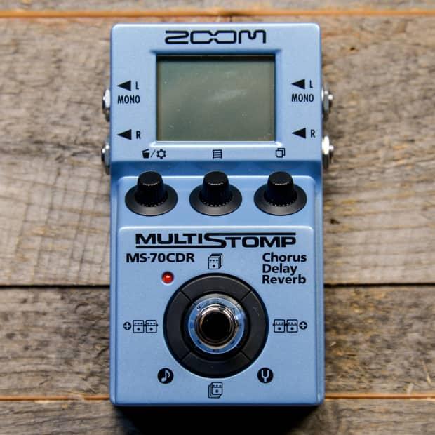 zoom ms 70cdr multistomp effect pedal w chorus delay reverb. Black Bedroom Furniture Sets. Home Design Ideas