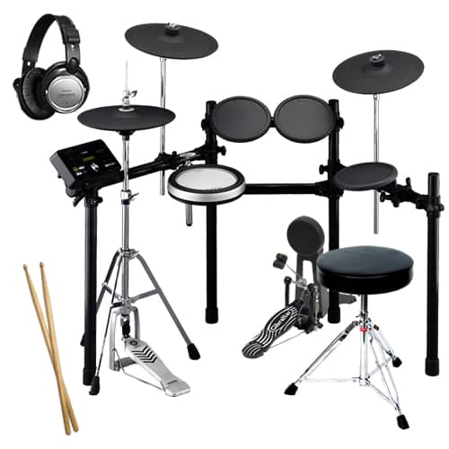 Yamaha dtx532k electronic drum set drum essentials bundle for Yamaha electronic drum sets