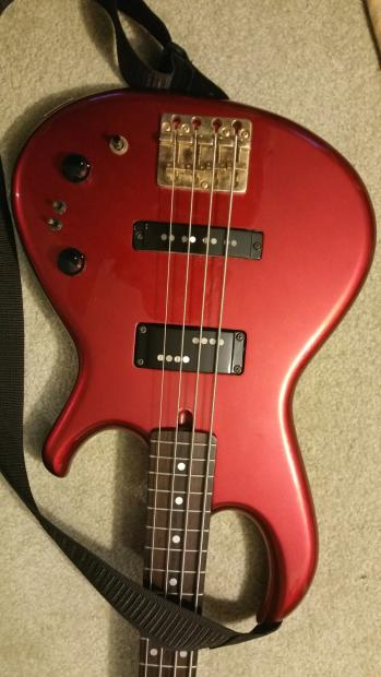 aria pro ii rsb 80 39 s red bass guitar reverb. Black Bedroom Furniture Sets. Home Design Ideas