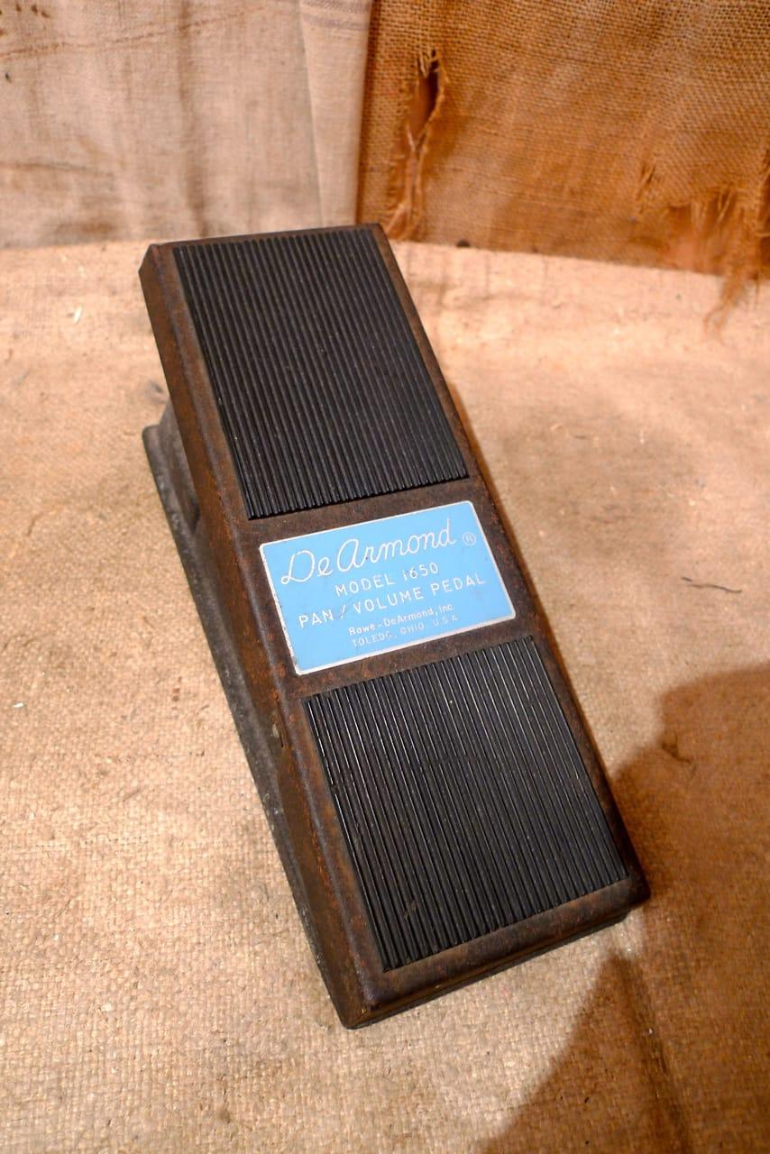 DeArmond Pan Volume Pedal 1970's