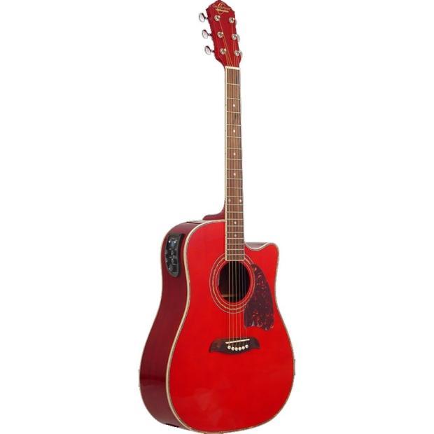 oscar schmidt og2ce dreadnought cutaway beginner acoustic electric guitar red reverb. Black Bedroom Furniture Sets. Home Design Ideas