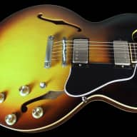<p>2016 Gibson ES-335 Block &#039;63 Memphis ES-335TD VOS ~ Historic Burst</p>  for sale