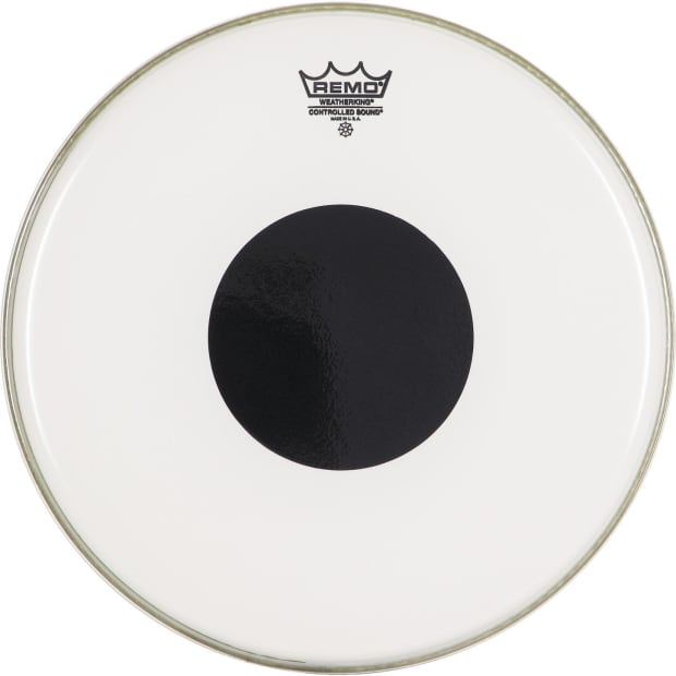 remo snare drum tom heads controlled sound clear 16 reverb. Black Bedroom Furniture Sets. Home Design Ideas