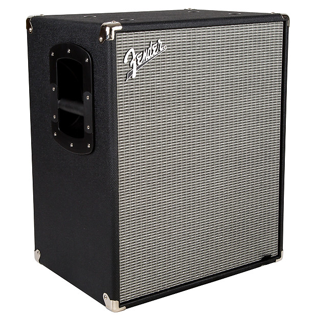 Fender rumble 210 cabinet black and silver reverb for Black and silver cabinet
