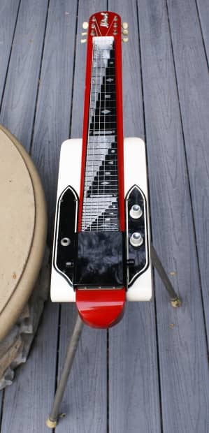 National Dynamic Consolette Lap Steel Guitar With Legs