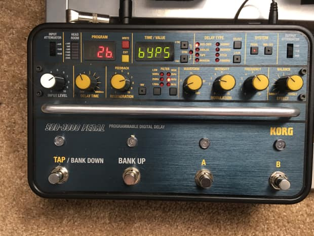 korg sdd 3000 pedal manual