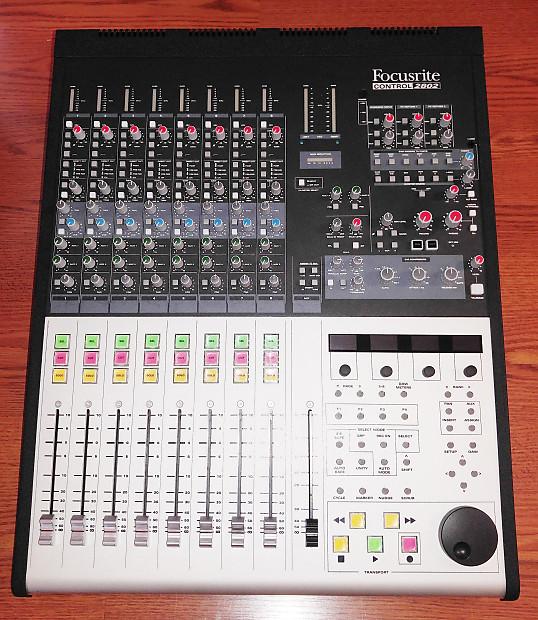 focusrite control 2802 mixer daw controller in original reverb. Black Bedroom Furniture Sets. Home Design Ideas