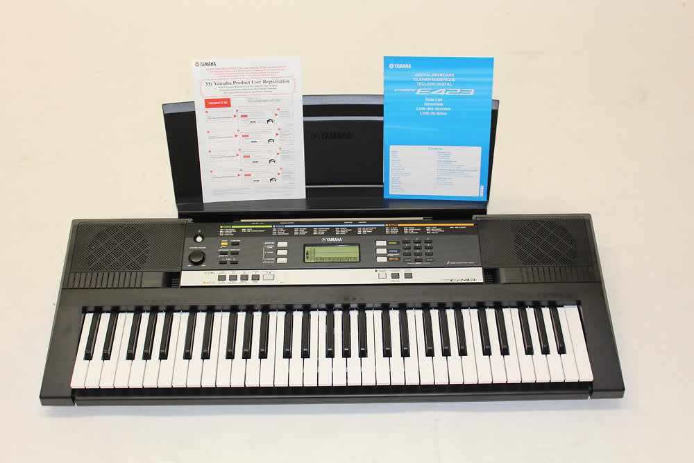 Yamaha psr e243 keyboard 61 keys reverb for Yamaha psr e243 accessories