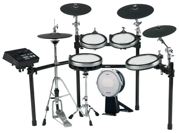 Yamaha dtx760k electronic drum set reverb for Yamaha electronic drum set