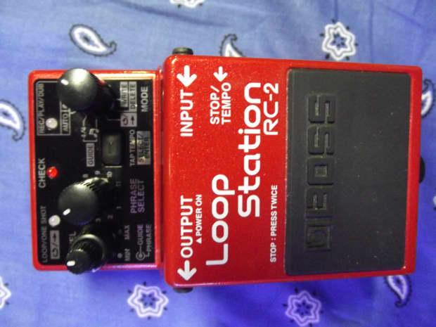 boss loop station rc 1 manual