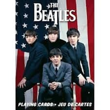 Beatles Playing Cards USA image