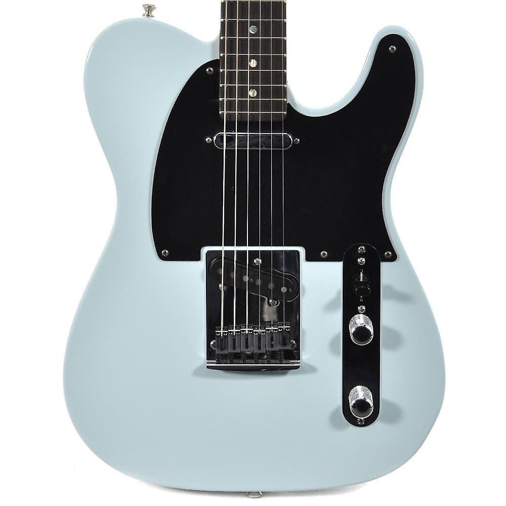 fender custom shop telecaster custom deluxe sonic blue reverb. Black Bedroom Furniture Sets. Home Design Ideas
