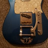 Fender  Telecaster Loaded Body ,USA ,Bigsby ,With Custom Shop Pickups 2010s Lake Placid Blue