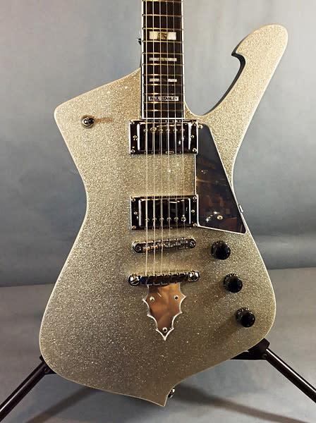 ibanez ps120s pssp paul stanley silver sparkle electric guitar reverb. Black Bedroom Furniture Sets. Home Design Ideas