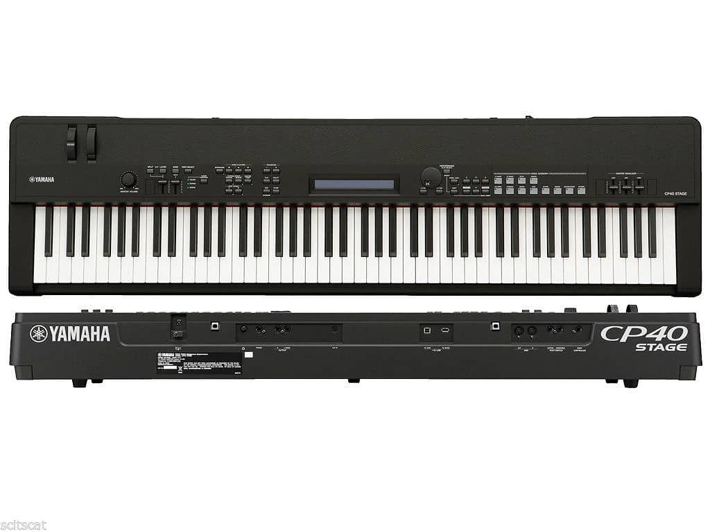 new yamaha cp40 stage 88 key graded hammer stage piano reverb. Black Bedroom Furniture Sets. Home Design Ideas