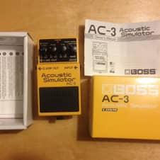 Boss AC-3 Acoustic Simulator 2000's orange image