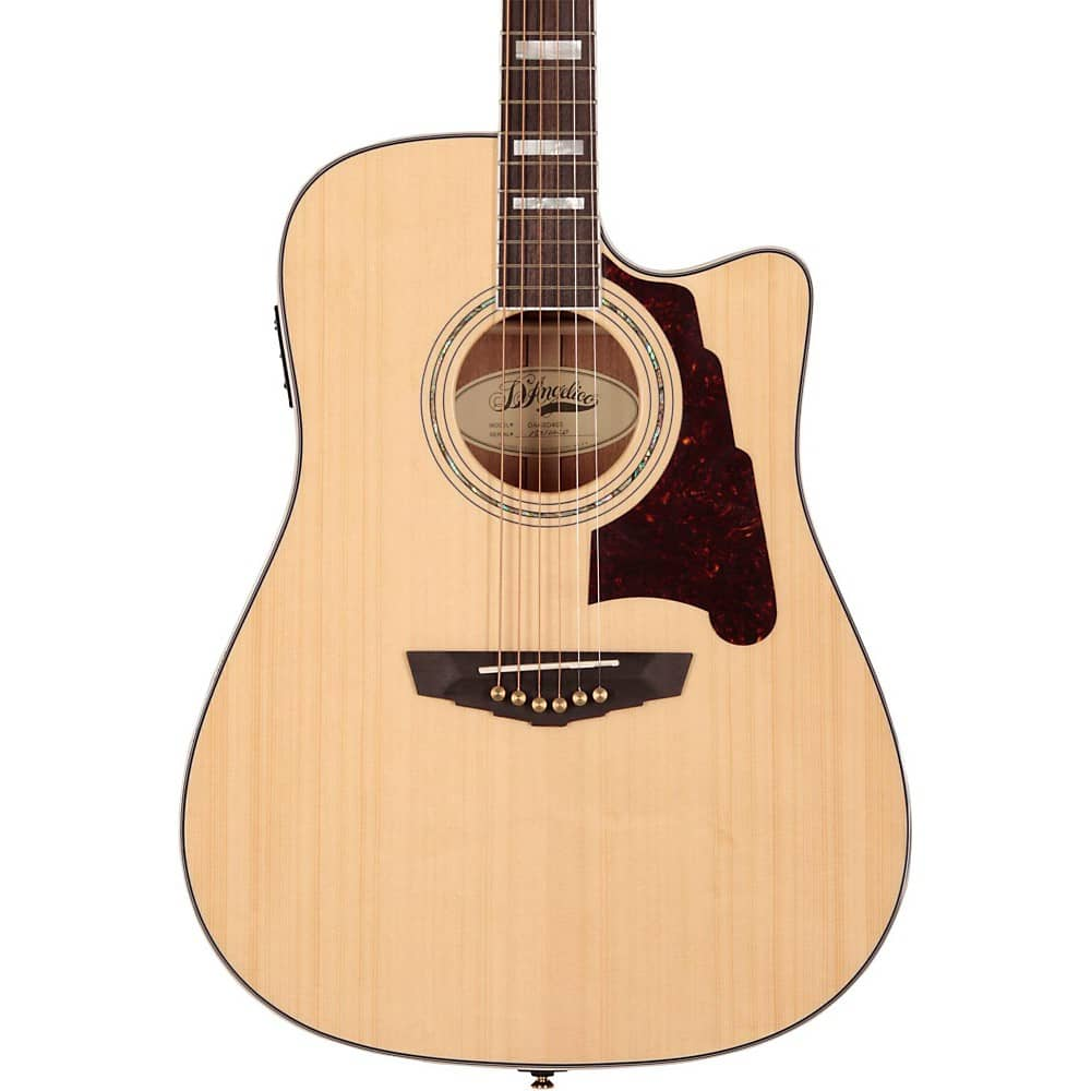 D'Angelico SD400 Brooklyn Natural- Acoustic Electric