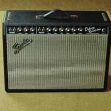 Fender Deluxe Reverb 1976 -  65 Blackface Conversion image