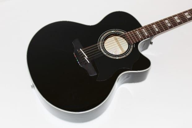 takamine eg523scb 12 black 12 string acoustic electric guitar reverb. Black Bedroom Furniture Sets. Home Design Ideas