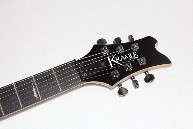 kramer pariah electric guitar red black flames reverb. Black Bedroom Furniture Sets. Home Design Ideas
