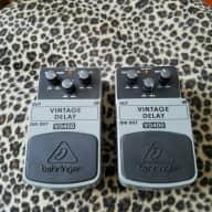 """2 BEHRINGER """"Vintage Delay"""" Pedals VD400 2016"""