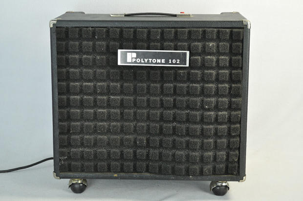 polytone model 102 electric jazz guitar amplifier 1970s joe pass reverb. Black Bedroom Furniture Sets. Home Design Ideas