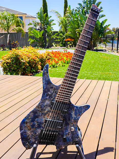 Strandberg boden 7 swedish custom shop 2016 poplar burl for Strandberg boden 7