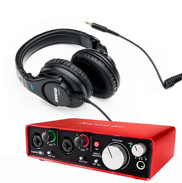 focusrite scarlett 2i2 2nd gen usb 2 0 audio interface reverb. Black Bedroom Furniture Sets. Home Design Ideas