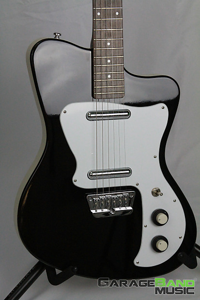 danelectro d67 heaven hawk electric guitar black reverb. Black Bedroom Furniture Sets. Home Design Ideas