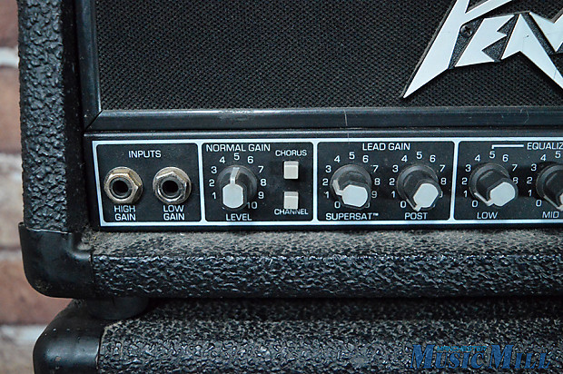 peavey vss20 guitar amp head vertical stereo stack amplifier reverb. Black Bedroom Furniture Sets. Home Design Ideas