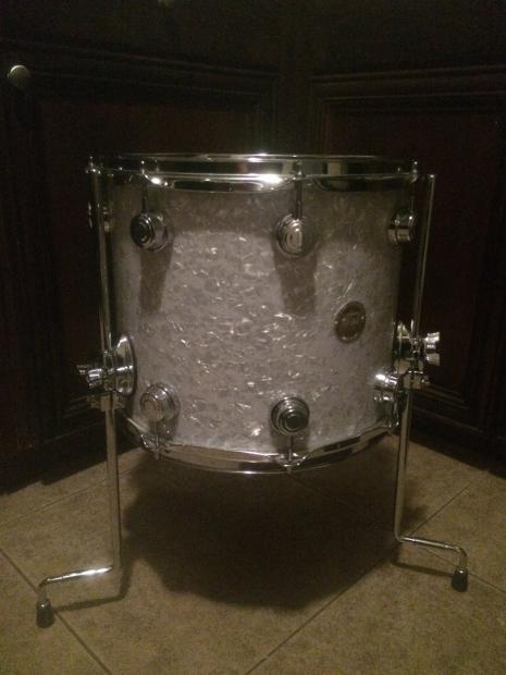 Drum workshop dw collectors maple floor tom drum 14x12 for 14x12 floor tom
