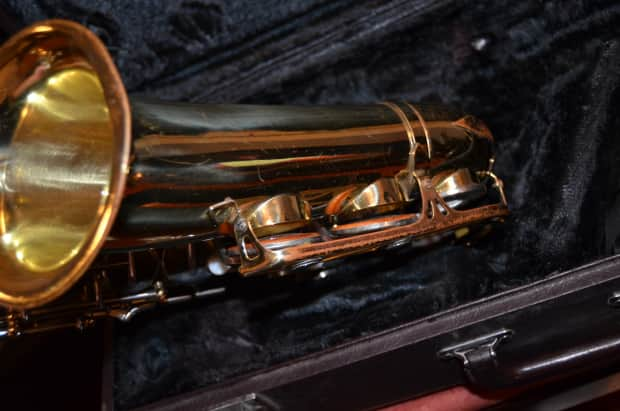Yamaha yas 21 alto sax with case reverb for Yamaha 14a4a trumpet mouthpiece review